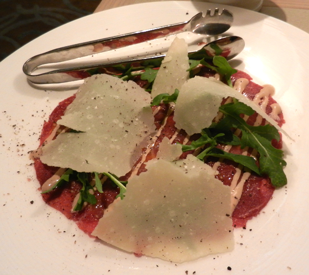 """Perth Restaurant Reviews"" ""Perth food blog"" ""food blog"" Chompchomp ""Gluten free"" ""Fructose malabsorption"" ""Modo Mio"" Italian ""Burswood Casino"" ""Victoria Park"" Burswood ""beef carpaccio"" ""cipriani sauce"" rocket parmesan"