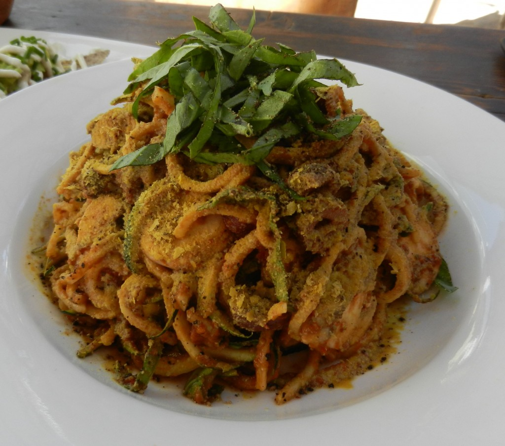 """raw zucchini pasta"" ""Perth Restaurant Reviews"" ""Perth food blog"" ""food blog"" Chompchomp ""Gluten free"" ""Fructose malabsorption"" ""The Raw Kitchen"" Fremantle ""raw food"" vegan vegetarian ""dairy free"""