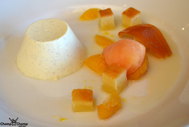 """Vanilla bean panna cotta"" ""orange cake"" ""orange peel"" ""orange segments"" ""campari sorbet"" ""dessert"" ""Mushroom Mania: Millbrook Winery, Jarrahdale"" ""Perth Restaurant Reviews"" ""Perth food blog"" ""food blog"" ""Chompchomp"" ""Gluten free"" ""Fructose malabsorption"" ""Power of mushrooms"" ""mushroom mania"" ""Millbrook Winery"" ""Jarrahdale"" ""perth hills"" ""winery"" ""fogarty wines"" ""restaurant garden"""