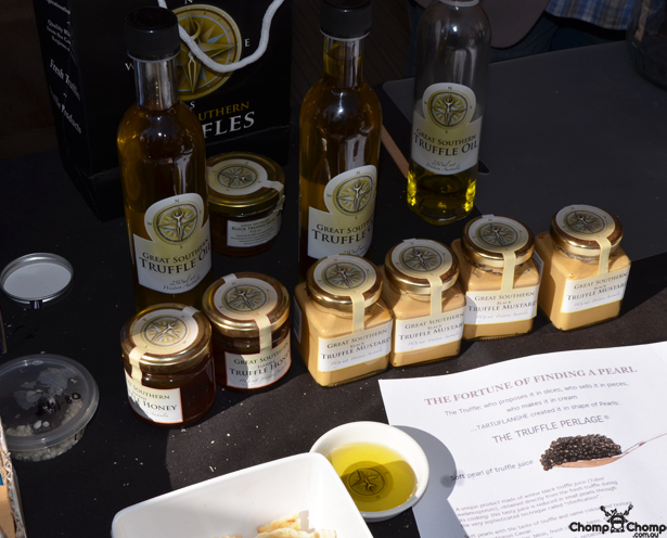 """Great Southern Truffles"" ""truffle mustard"" ""truffle salt"" ""truffle oil"" ""Perth Restaurant Reviews"" ""Perth food blog"" ""food blog"" ""Chompchomp"" ""Gluten free"" ""Fructose malabsorption"" ""Mundaring Truffle Festival 2012"" ""Food events Perth"" ""truffles"" ""food festivals"" ""Mundaring"""