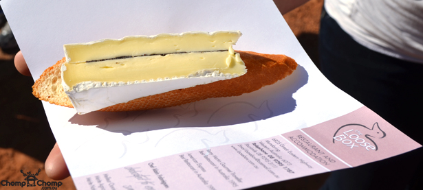 """Loose Box"" ""cheese"" ""Truffled brie"" ""Perth Restaurant Reviews"" ""Perth food blog"" ""food blog"" ""Chompchomp"" ""Gluten free"" ""Fructose malabsorption"" ""Mundaring Truffle Festival 2012"" ""Food events Perth"" ""truffles"" ""food festivals"" ""Mundaring"""
