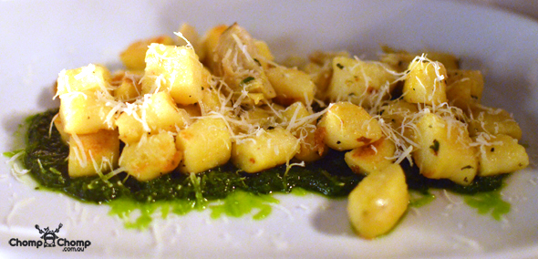 """Ricotta gnocchi"" ""sage"" ""garlic"" ""pasta"" ""Perth Restaurant Reviews"" ""West End Deli, West Perth"" ""food photos"" ""Perth food blog"" ""food blog"" ""Chompchomp"" ""Gluten free"" ""Fructose malabsorption"" ""West Perth"" ""WED"" ""west End Deli"" ""perth"" ""french"" ""bistro"""