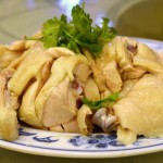 Hainanese Chicken Rice at Pow Sing, Singapore