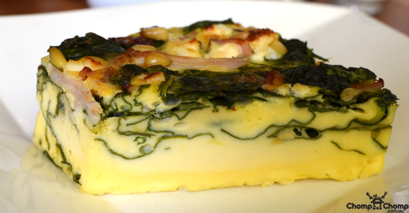 """Spinach frittata"" ""bacon"" ""feta"" ""pinenuts"" ""frittata"" ""Perth Restaurant Reviews"" ""food photos"" ""Perth food blog"" ""food blog"" ""Chompchomp"" ""Gluten free"" ""Fructose malabsorption"" ""travel blog"" ""Breakfast"" ""brunch"" ""coffee"" ""Food For Me, Victoria Park"" ""Food For Me"" ""Victoria Park"" ""Vic Park"" ""Vic Park Cafe"" ""Albany Highway"" ""organic"""