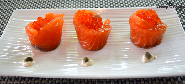 """Salmon gravlax"" ""salmon rosette"" ""ginger flower"" ""Hiramisa kingfish sashimi"" ""salmon roe"" ""sashimi"" ""gravlax"" ""seafood"" ""Perth Restaurant Reviews"" ""food photos"" ""Perth food blog"" ""food blog"" ""Chompchomp"" ""Gluten free"" ""Fructose malabsorption"" ""Singapore Food blog"" ""Singapore restaurant reviews"" ""travel blog"" ""Singapore"" ""Singapore travel blog"" ""Singapore restaurants"" ""Singapore food blog"" ""Singapore restaurant reviews"" ""Singapore attractions"" ""Halia"" ""Halia, Botanic Gardens"" ""Singapore Botanic Gardens"" ""Ginger garden"" ""fine dining"" ""fine dining Singapore"""