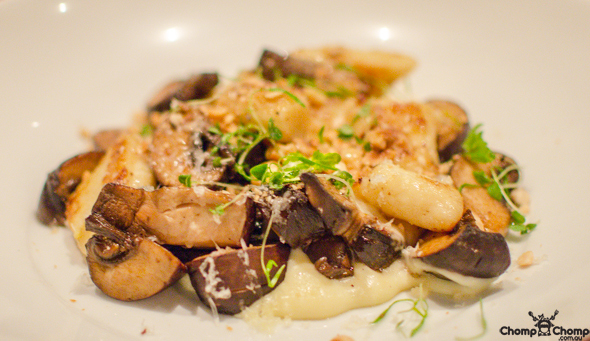 """Potato Gnocchi"" ""truffled Swiss Brown Mushrooms"" ""Toasted Hazelnuts"" ""Comte"" ""Perth Restaurant Reviews"" ""food photos"" ""Perth food blog"" ""food blog"" ""Chompchomp"" ""Gluten free"" ""Fructose malabsorption"" ""Perth bars"" ""Perth restaurants"" ""Perth food reviews"" ""breakfast"" ""casual dining"" ""vegetarian"" ""brunch"" ""wine bar"" ""Five Bar"" ""Five Bar Beaufort"" ""Beaufort Street"" ""Highgate"" ""Mount Lawley"" ""mt lawley"" ""Beaufort Street Merchant"" ""Beaufort st merchant"" ""Yelp Elite"" ""Yelp Perth"" ""Feral brewery"" ""feral brewing company"""