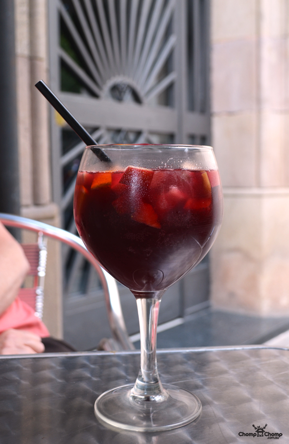 """sangria"" ""Perth Restaurant Reviews"" ""food photos"" ""Perth food blog"" ""food blog"" ""Chompchomp"" ""Gluten free"" ""Fructose malabsorption"" ""Spain Food blog"" ""Spain restaurant reviews"" ""Spain travel blog"" ""Barcelona Food blog"" ""Barcelona restaurant reviews"" ""Barcelona travel blog""""Spain"" ""Barcelona"" ""Barcelona restaurants"" ""gluten free Barcelona"" ""gluten free Spain"" ""barcelona fine dining"" ""barcelona degustation"" ""barcelona tapas"" ""gluten free tapas"" ""Bilbao Berria"" ""tapas tours barcelona"" ""tapas tours"" ""Bombas"" ""La bombeta"" ""Sweet Dreams Barcelona"" ""Placa Nova"" ""Conessa"" ""sangria"" ""tapas"" ""tomato bread"""