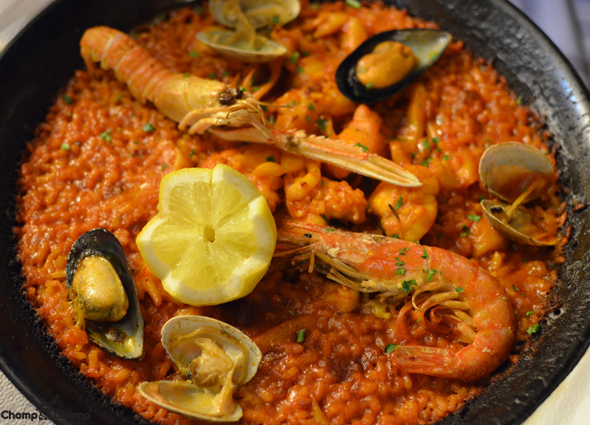 """Paella"" ""seafood"" ""seafood rice"" ""Perth Restaurant Reviews"" ""food photos"" ""Perth food blog"" ""food blog"" ""Chompchomp"" ""Gluten free"" ""Fructose malabsorption"" ""Spain Food blog"" ""Spain restaurant reviews"" ""Spain travel blog"" ""Barcelona Food blog"" ""Barcelona restaurant reviews"" ""Barcelona travel blog""""Spain"" ""Barcelona"" ""Barcelona restaurants"" ""gluten free Barcelona"" ""gluten free Spain"" ""barcelona fine dining"" ""barcelona degustation"" ""barcelona tapas"" ""gluten free tapas"" ""sangria"" ""tapas"" ""tomato bread"" ""gluten free Catalan"" ""catalan review"" ""catalan food"" ""L'Amfora"" ""Restaurant ""L'Amfora"" ""Lamfora"" ""Amfora"" ""Parallel Avenue"""