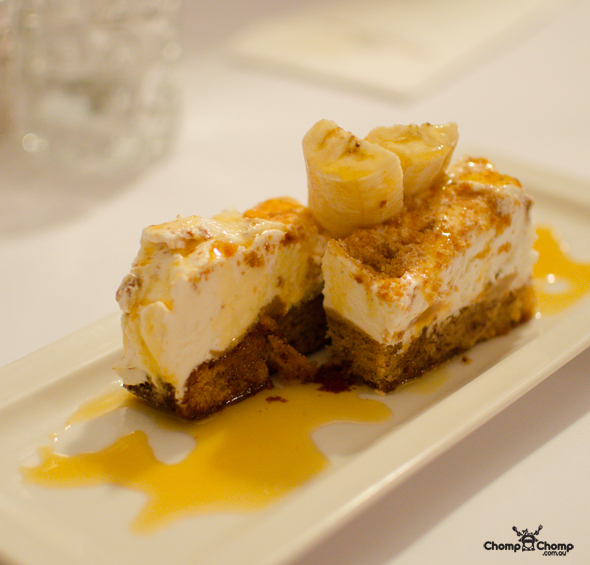 """banoffee pie"" ""dessert"" ""desserts"" ""Iced banoffee terrine"" ""caramel syrup"" ""double cream"" ""Perth Restaurant Reviews"" ""food photos"" ""Perth food blog"" ""food blog"" ""Chompchomp"" ""Gluten free"" ""Fructose malabsorption"" ""Perth bars"" ""Perth restaurants"" ""Perth food reviews"" ""casual dining"" ""vegetarian"" ""Perth pubs"" ""pub food"" ""Guildford"" ""Swan Valley"" ""Rose & Crown"" ""Rose and Crown"" ""Rose & Crown Guildford"" ""Guildford gluten free"" ""Guildford pubs"" ""Swan Valley pubs"" ""Swan Valley gluten free"" ""team building"""