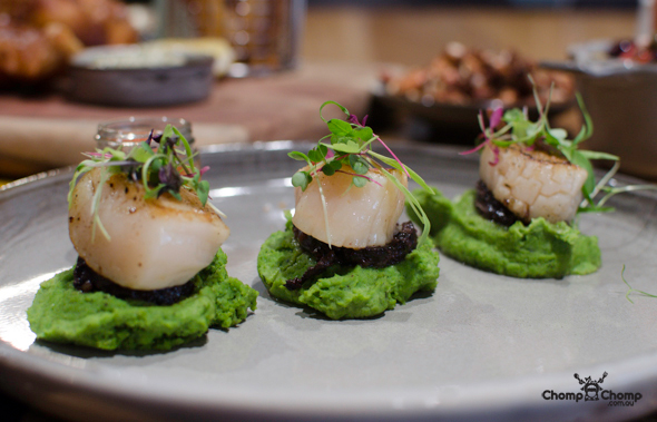 """Scallops"" ""black pudding"" ""pea"" ""minted pea puree"" ""romesco"" ""Perth Restaurant Reviews"" ""Perth food blog"" ""Perth restaurants"" ""Perth gluten free"" ""Perth fructose friendly"" ""restaurants perth"" ""food blog"" ""Chompchomp"" ""food photos"" ""Gluten free"" ""Fructose friendly"" ""gluten free cooking"" ""gluten free recipes"" ""fructose friendly recipes"" ""gluten free raw food"" ""fructose friendly raw food"" ""Fructose malabsorption"" ""raw food cooking"" ""Claremont"" ""Claremont Restaurant Reviews"" ""Claremont food blog"" ""Claremont restaurants"" ""Claremont gluten free"" ""Claremont fructose friendly"" ""restaurants Claremont"" ""Claremont coffee"" ""Claremont cafe"" ""Typika"" ""Typika Artisan Roasters"" ""Typika Claremont"" ""Artisan roaster"" ""artisan coffee"" ""coffee roaster"" ""single origin"" ""Stirling Highway"""