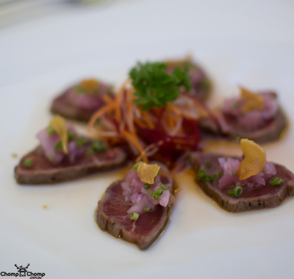 """Seared beef"" ""garlic chips"" ""chives"" ""momiji orosh"" ""scallion"" ""ponzu sauce"" ""Raw Bar"" ""Gyu Tataki"" ""Perth Restaurant Reviews"" ""Perth food blog"" ""Perth restaurants"" ""Perth gluten free"" ""Perth fructose friendly"" ""Perth food reviews"" ""restaurants perth"" ""food blog"" ""Chompchomp"" ""food photos"" ""gluten free"" ""fructose friendly"" ""gluten free cooking"" ""gluten free recipes"" ""fructose friendly recipes"" ""gluten free raw food"" ""fructose friendly raw food"" ""food event"" ""West Australia food festival"" ""launch event"" ""food festival"" ""wine festival"" ""Perth food festival"" ""eat drink Perth"" ""eat drink perth 2014"" ""City of Perth"" ""Perth city"" ""launch party"" ""First feast"" ""The First Feast"" ""Brookfield Place"" ""Bar Lafayette"" ""Choo Choo's"" ""Darling Buds of May"" ""Matt Golinski"" ""Sushia Izakaya"" ""Trustee"" ""Heritage"" ""Print Hall"" ""The Trustee Bar and Bistro"" ""The Trustee Bar"" ""The Heritage Bar"" ""The Heritage Brasserie"" ""Bobeche"""