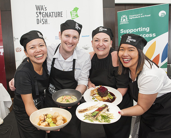 WA Signature dish Finalists for 2015